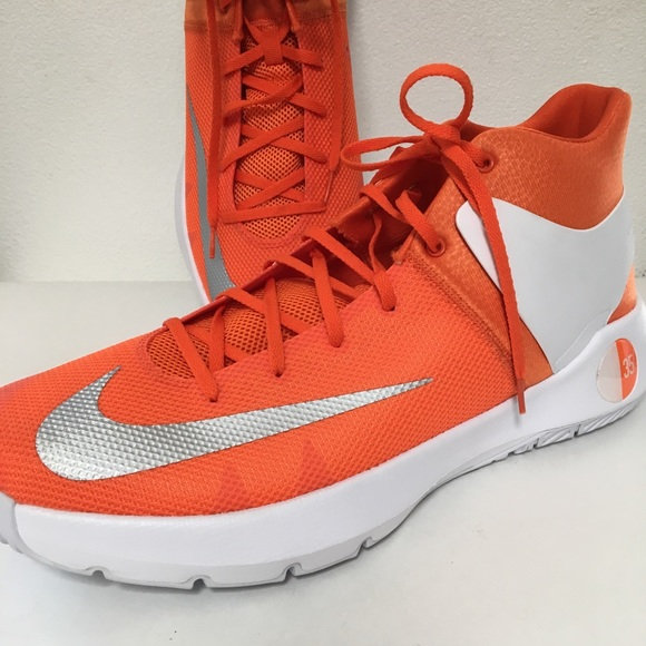 bb8102544d39 Nike KD Orange white 35 kd trey 5 basketball shoes